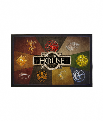 Game of thrones Great Houses Our House Doormat Welcome Mat